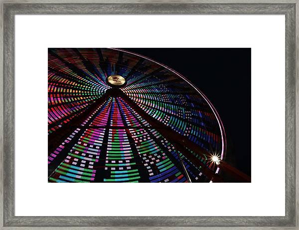 The Ferris Wheel Framed Print