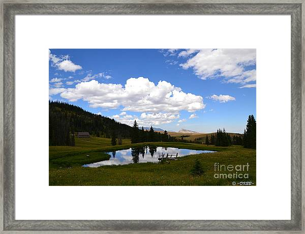 The Fishing Hole Framed Print