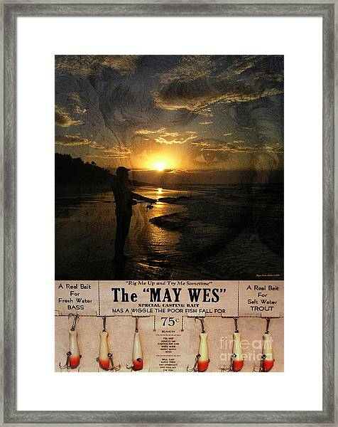 The Fishing Lure No3 Framed Print