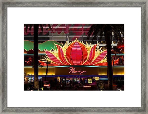 The Flamingo Hotel And Casino Las Vegas Framed Print