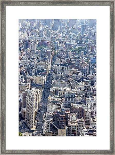 The Flatiron Building Framed Print