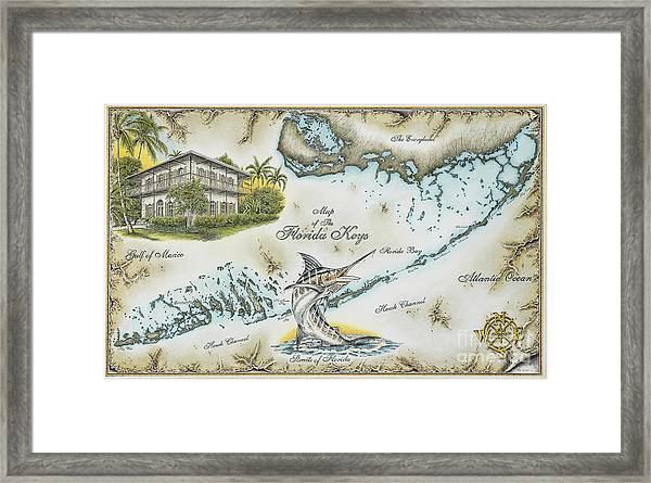 The Florida Keys Framed Print by Mike Williams