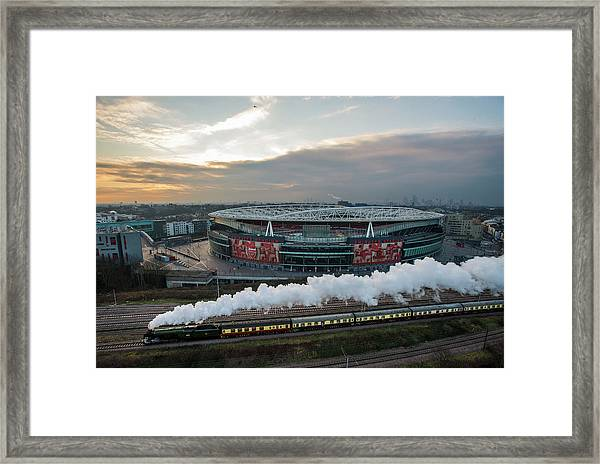 The Flying Scotsman Travels The East Framed Print