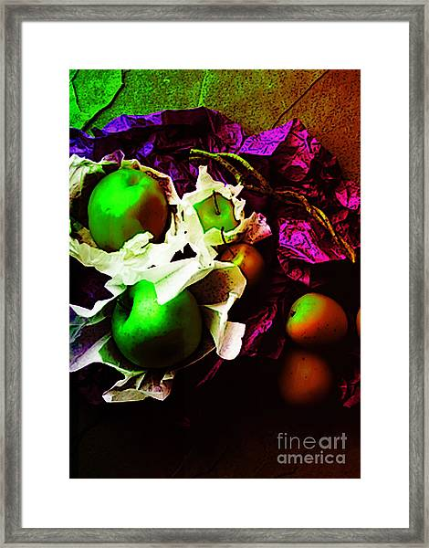 The Forbidden Fruit II Framed Print