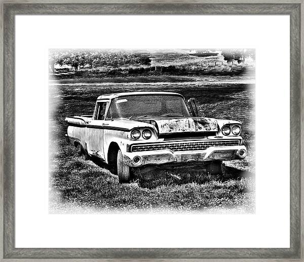 The Ford Ranchero Framed Print