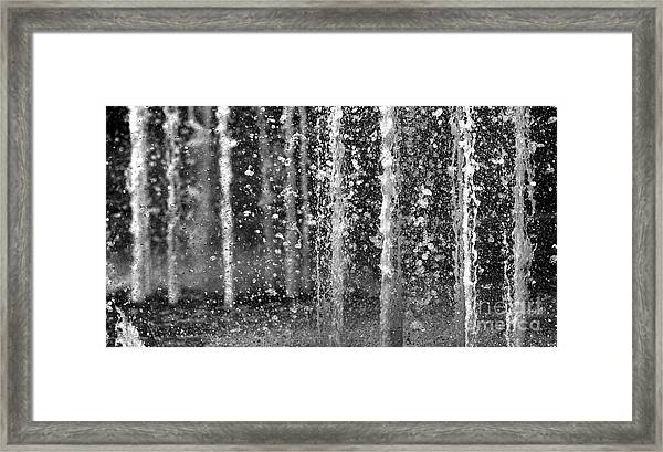 The Fountain Framed Print