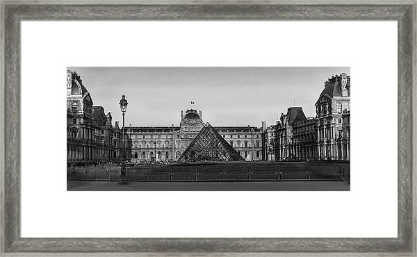 The Full Louvre Denise Dube Framed Print