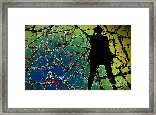 Her Future Is Now Framed Print
