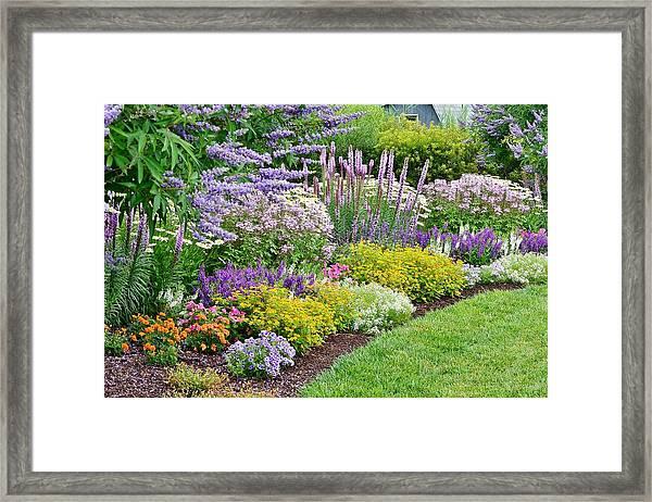 The Gardens Of Bethany Beach Framed Print