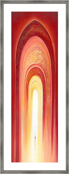 The Gate Of Light Framed Print