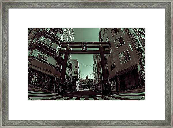 The Gate Framed Print by Ryan Routt