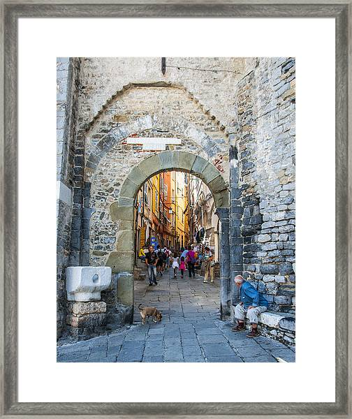 The Gate To Old Town Framed Print