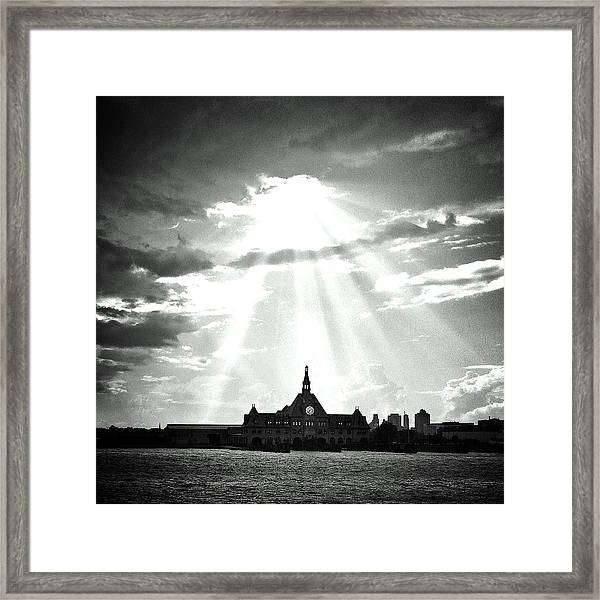 The Gateway Of Generations Framed Print