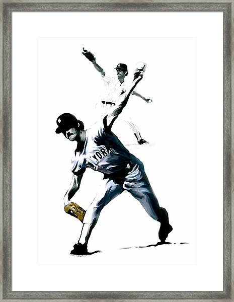 The Gator  Ron Guidry  Framed Print