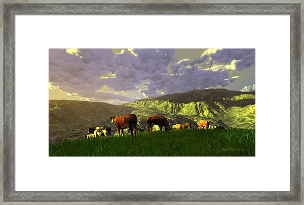 The Gentle Breed Framed Print