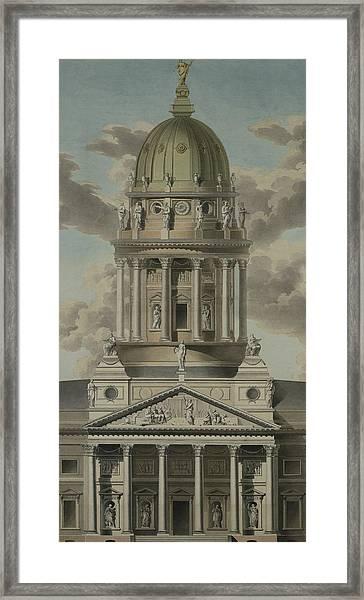 The German Cathedral On The Gendarmenmarkt Framed Print