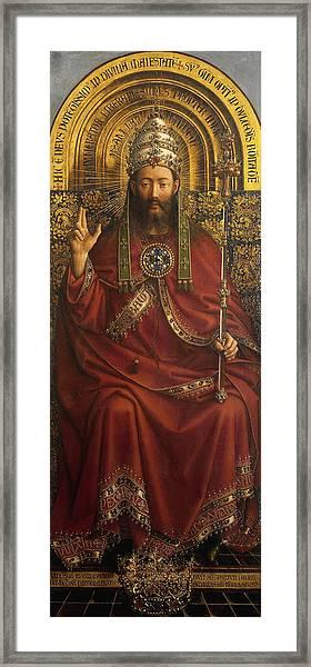 The Ghent Altarpiece Open  Framed Print