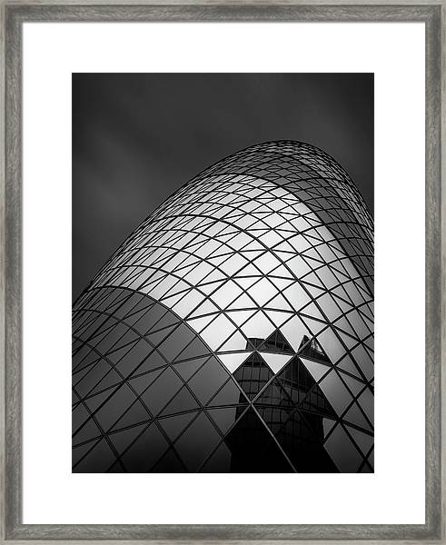 The  Gherkin Framed Print