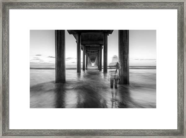 The Ghost Watcher Framed Print by Adam Gaeth