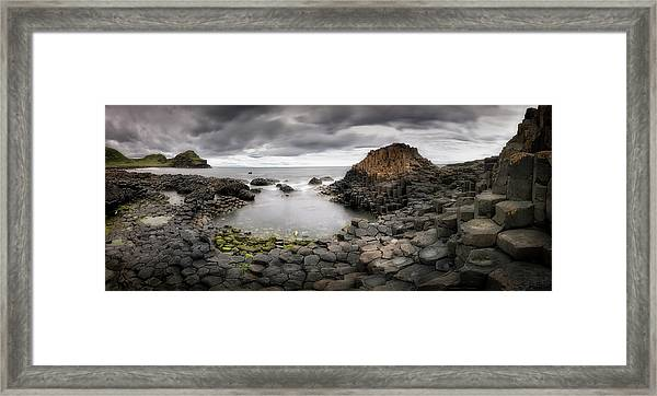 The Giants Causeway Framed Print