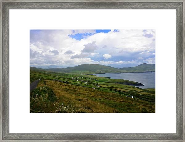 The Glen On St. Finians Bay Framed Print