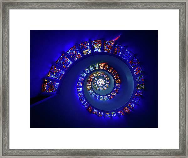 The Glory Window Framed Print