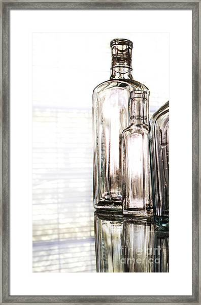 The Glow Of Glass Framed Print