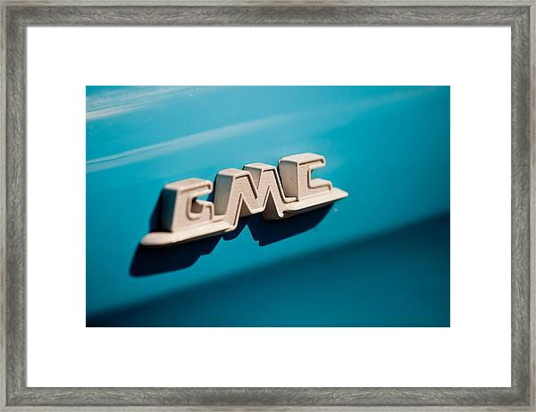 The Gmc Framed Print