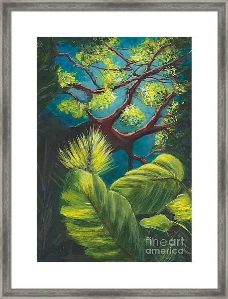 The Goblin Market Restaurant Tree Mt. Dora Framed Print