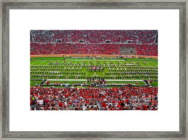 Framed Print featuring the photograph The Going Band From Raiderland by Mae Wertz