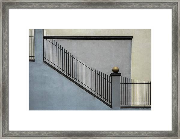 The Golden Ball II Framed Print