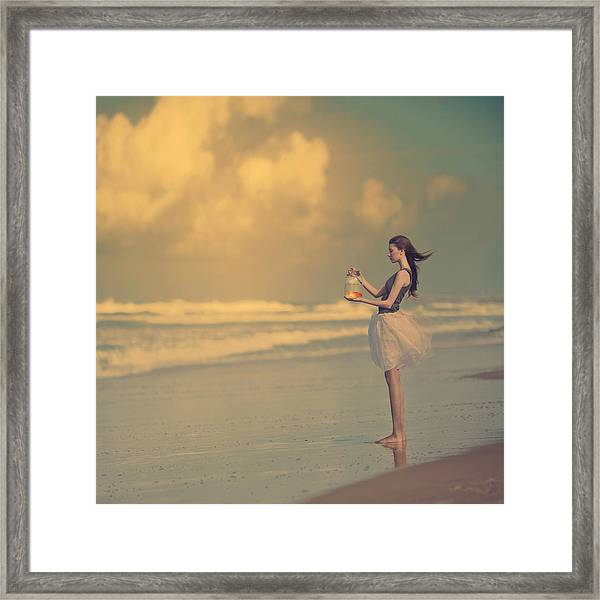 The Golden Fish Framed Print