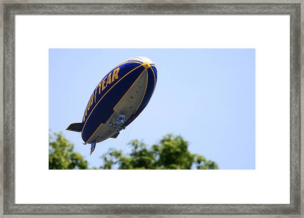 The Goodyear Blimp N3a Framed Print