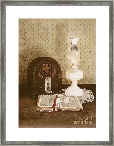 The Gospel Hour Framed Print