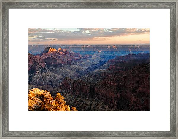 The Grand Canyon Framed Print by Alexis Birkill