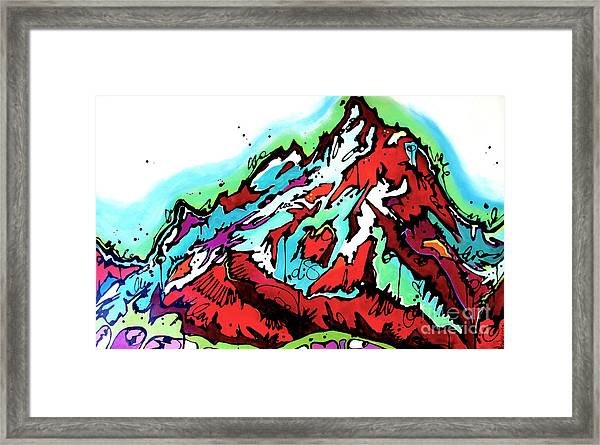 The Grand From Jackson Lake Framed Print