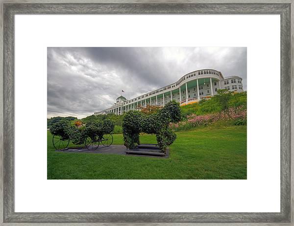 The Grand Hotel Mackinac Island Framed Print