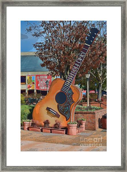 The Grand Ole Opry Framed Print