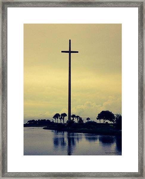 The Great Cross Framed Print