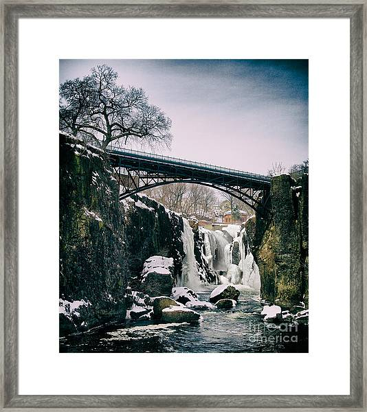 The Great Falls Of Paterson Framed Print