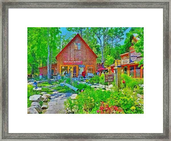 The Great Hall Of The Republic Framed Print