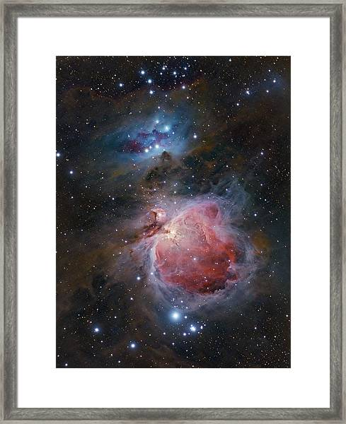 The Great Orion Nebula Framed Print