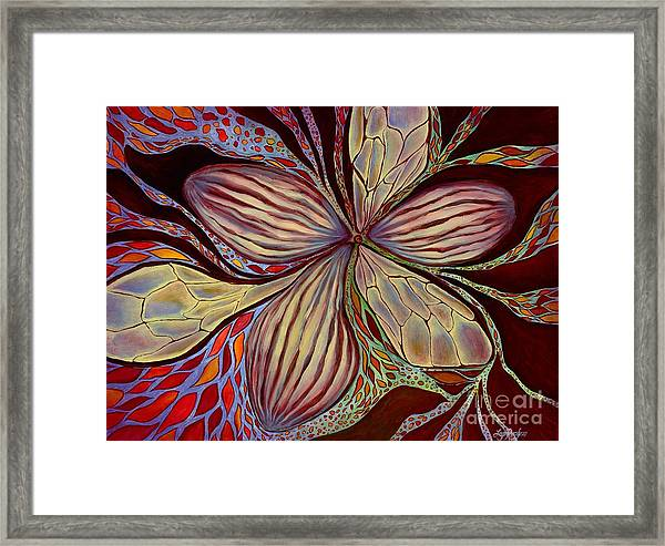 The Great Pollination Framed Print