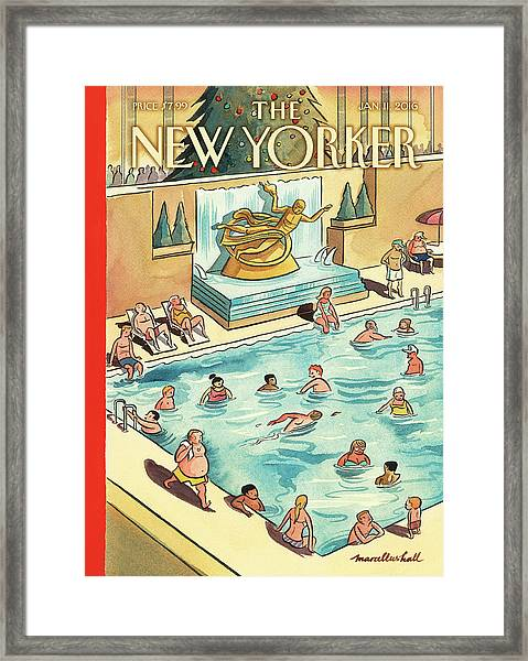 The Great Thaw Framed Print