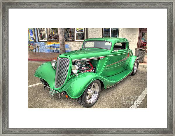 The Green Meanie Framed Print