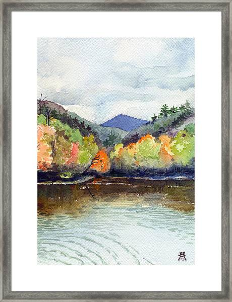 The Greenbriar River Framed Print