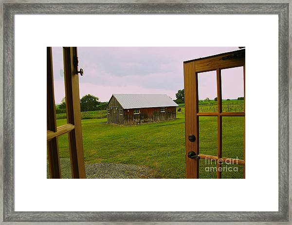 The Grounds Framed Print