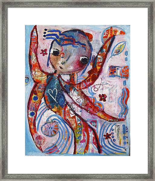 The Guardian Angel Framed Print