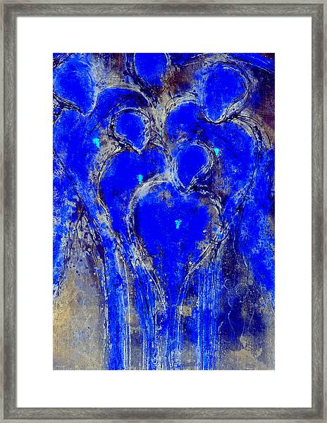The Guardian Angels Of Mortals II Framed Print
