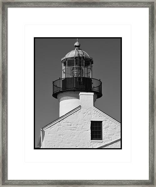 The Guardian To San Diego Bay Framed Print